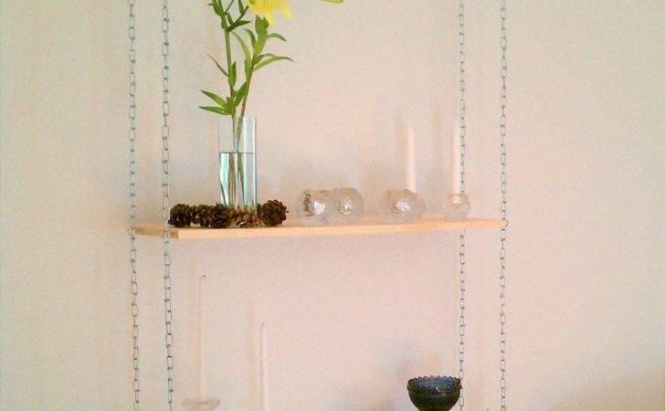 Ceiling Hanging Shelves Diy Build Industrial Shelf