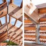 Ceiling Idea Eco Sustainable House Solid Wood Material