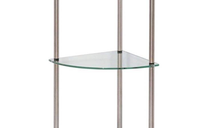 Ceiling Suspended Glass Shelf Mounted Shelves
