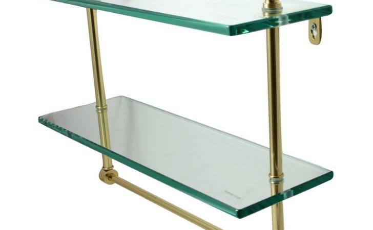 Ceiling Suspended Glass Shelf