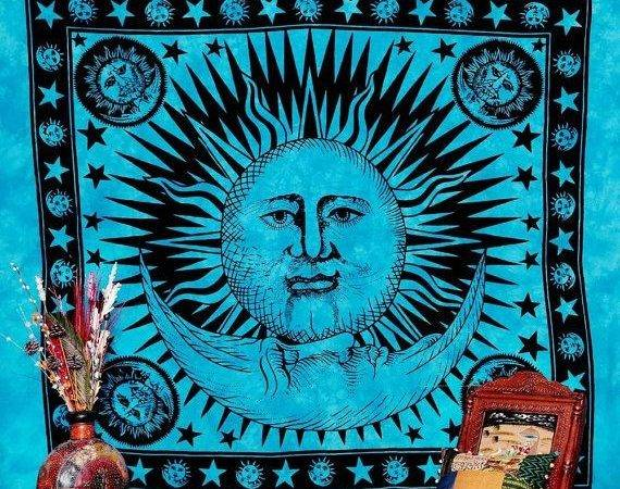 Celestial Tapestry Sun Moon Labhanshi