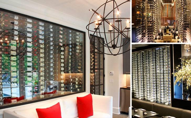 Cellar Design Wine Fridge Bar Display Further Custom Doors