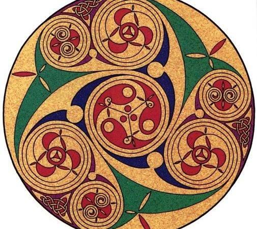 Celtic Art Designs Casuals Spirals Tattoo