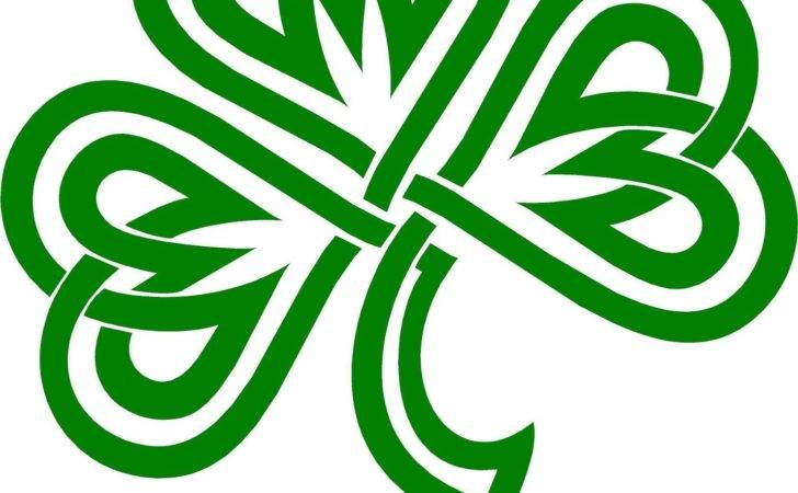 Celtic Shamrock Designs Clipart Best