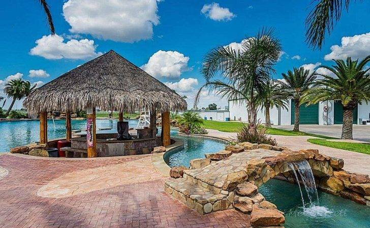 Ceo Lists His Texas Mansion Backyard Water Park Million