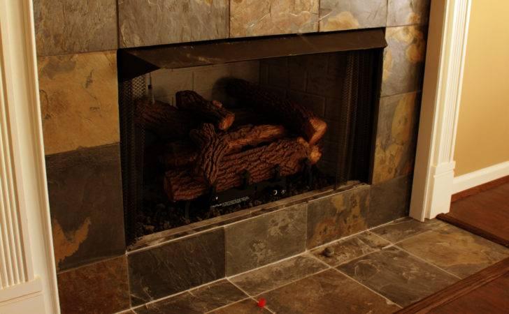Ceramic Tile Fireplace Surround Home Decor Ideas Pinterest