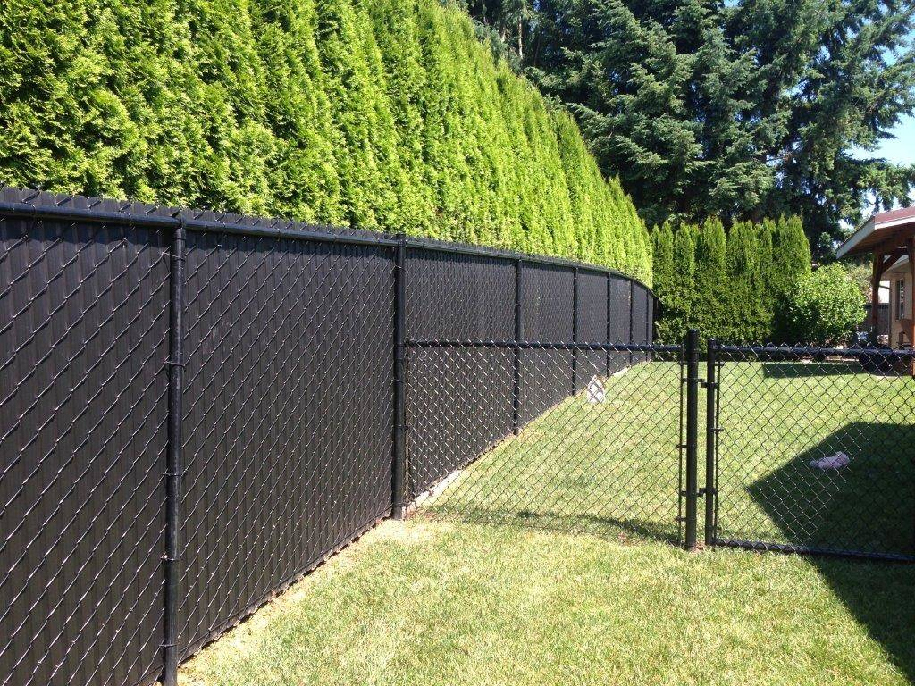 Chain Link Fence Privacy Screen Hooverfencenet