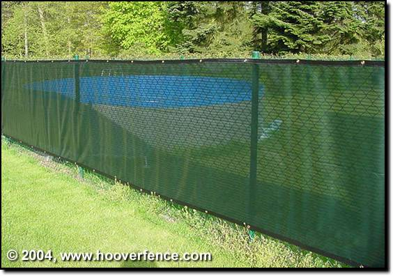 Chain Link Fence Screening Make