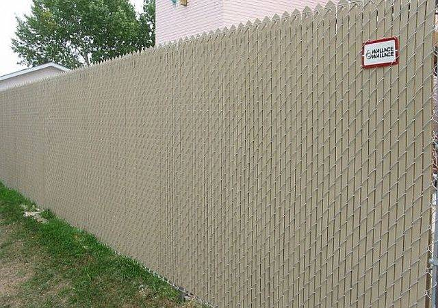 Chain Link Privacy Inserts Wallace Fences