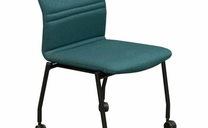 Chairs Stacking Stylex Bounce Used Mobile Stack Chair Teal