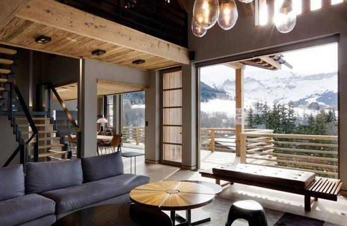 Chalet Alpine Interior Design Chale Pinteres