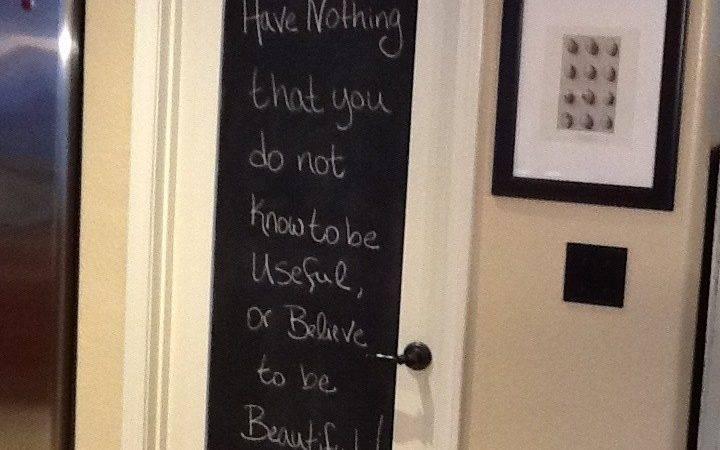 Chalk Board Pantry Door Home Sweet Pinterest