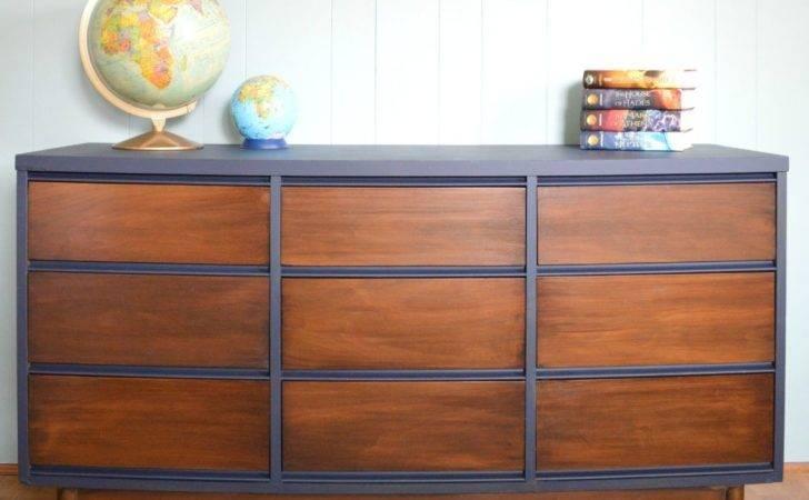 Chalk Painted Mid Century Modern Furniture Home Design Ideas