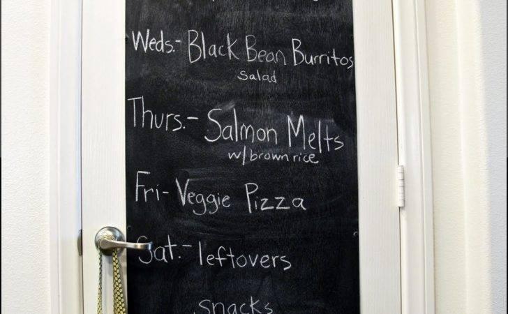 Chalkboard Door Ideas Home Pinterest