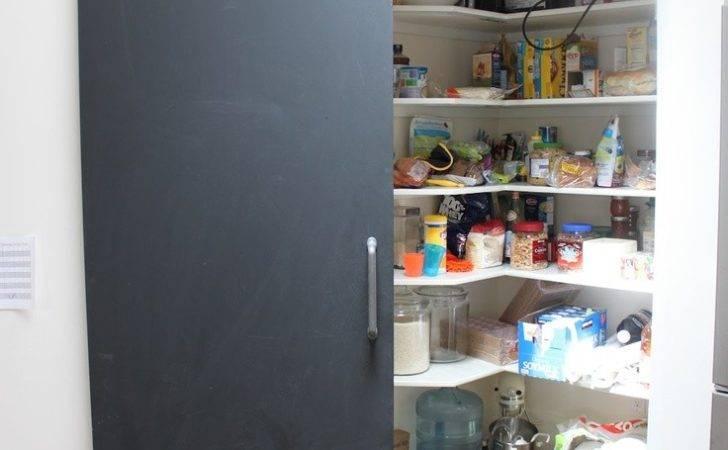 Chalkboard Pantry Door Home Pinterest