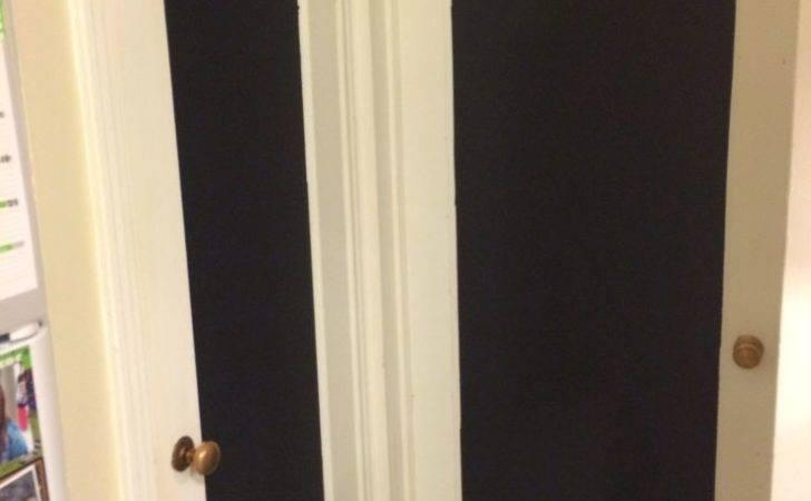 Chalkboard Pantry Doors Home Pinterest