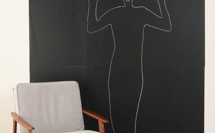 Chalkboard Wall Decal Urban Outfitters