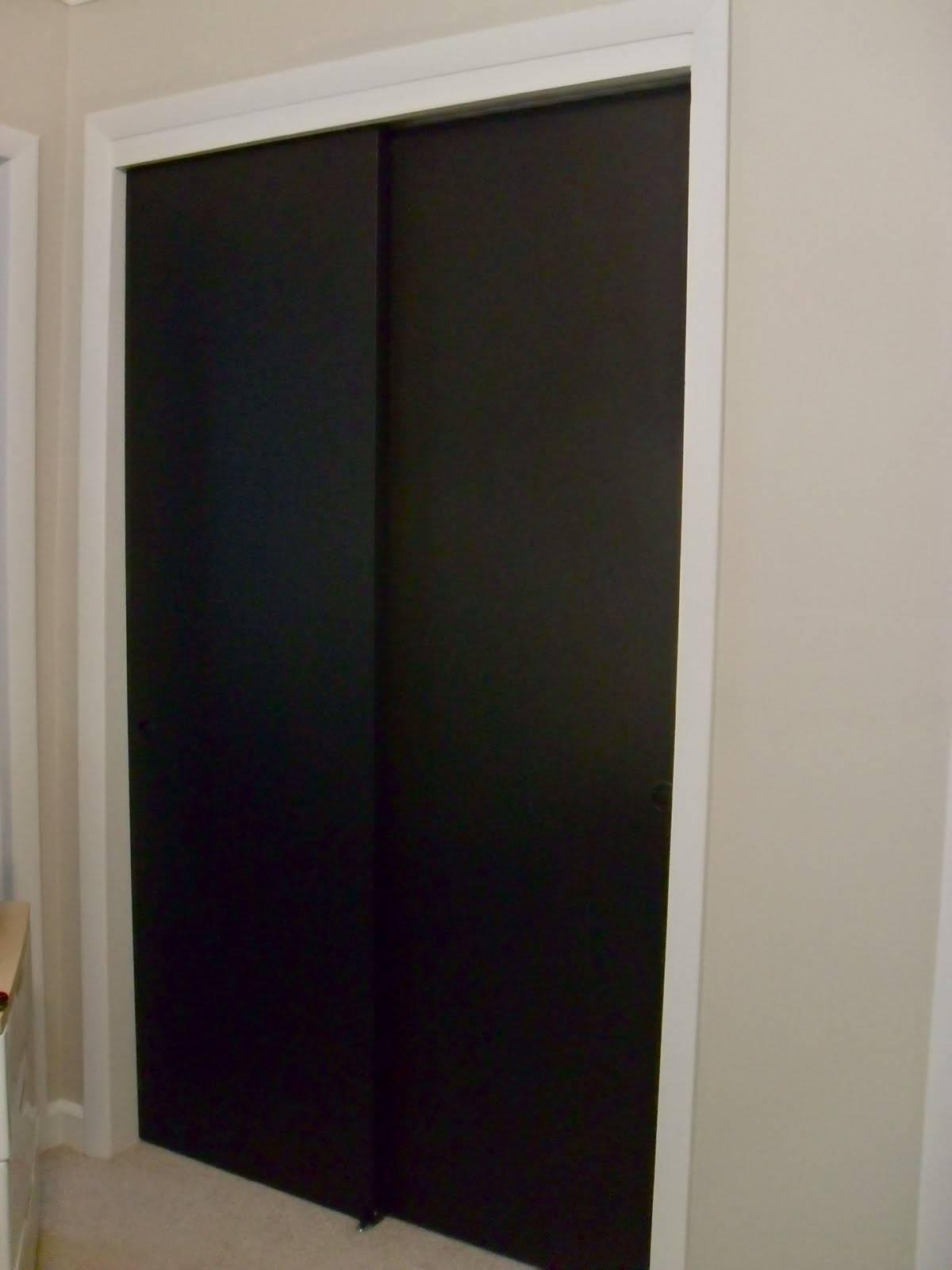 Chalkboard Wardrobe Doors Children Kids
