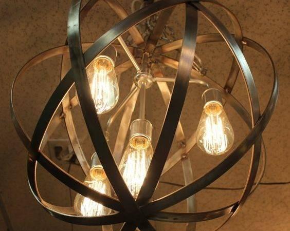 Chandelier Lights Outdoor Hanging Sphere