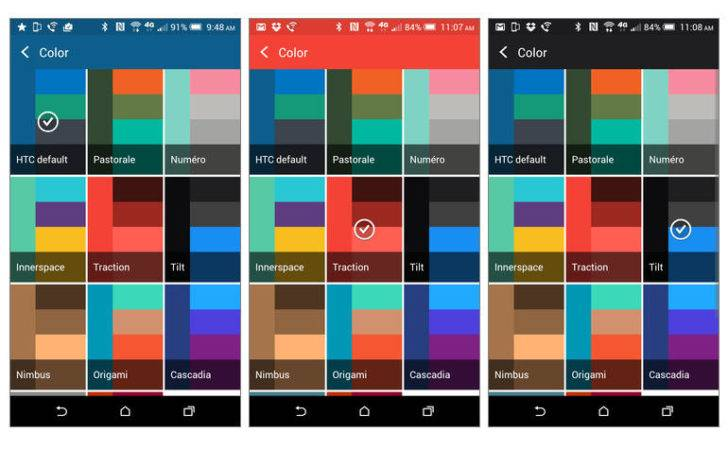 Change Accent Colors Htc One