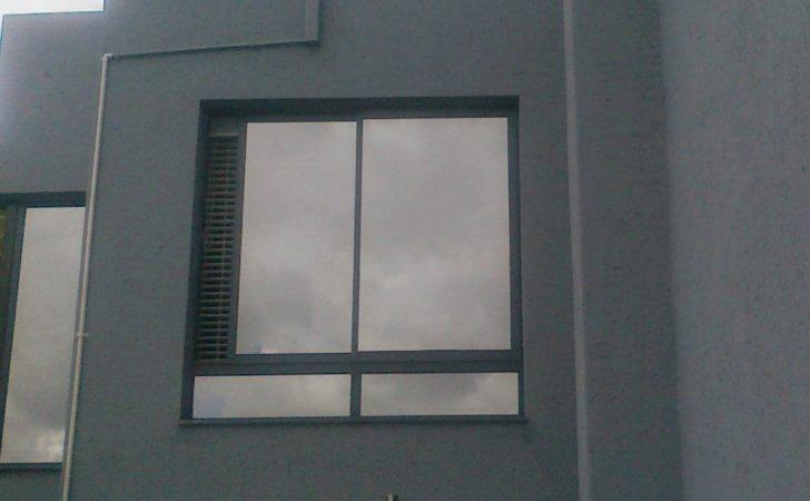 Charcoal Sliding Windows Reflective Glass Aluminium Advance