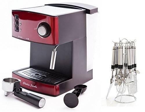 Charles Jacobs Bar Pump Coffee Machine Espresso Italian Style