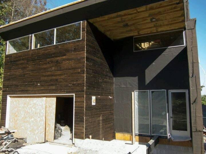 Charred Cedar Siding Home Pinterest