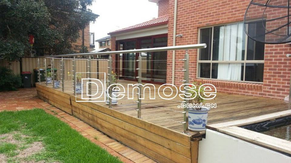 Cheap Deck Railings Modern Balcony Stainless Steel Railing Design