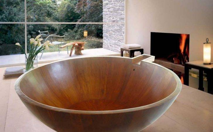 Check Out Gorgeous Wooden Tubs Want