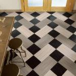 Checkerboard Floor Herringbone Tile Floors Porcelain Tiles