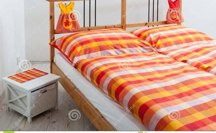 Checkered Bedding Interior Bedroom