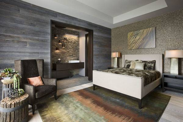 Cheerful Rustic Bedrooms Inspire Winter