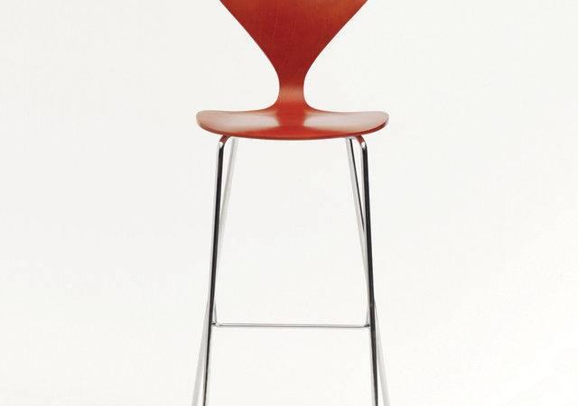 Cherner Chair Metal Base Stool Bar Modern Stools Counter