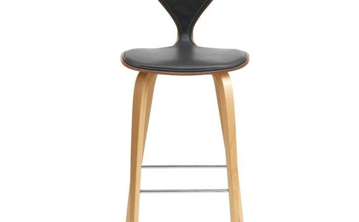 Cherner One Piece Upholstered Stool Yliving