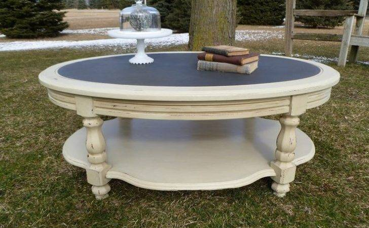 Chic Round Coffee Table Diy Home Pinterest Tables