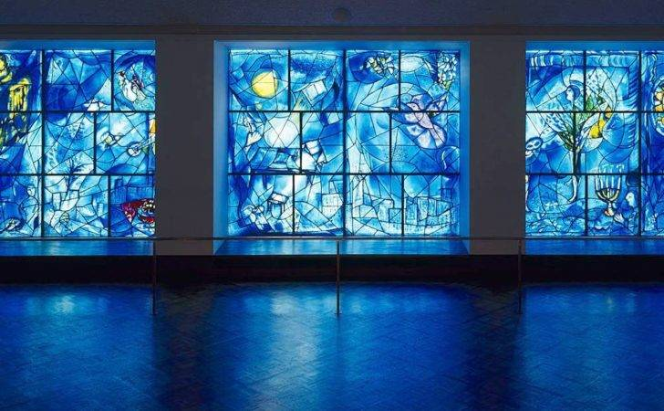 Chicago Art Institute Chagall Stained Glass Windows
