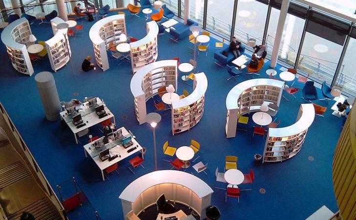 Childrens Library Design Black Radius