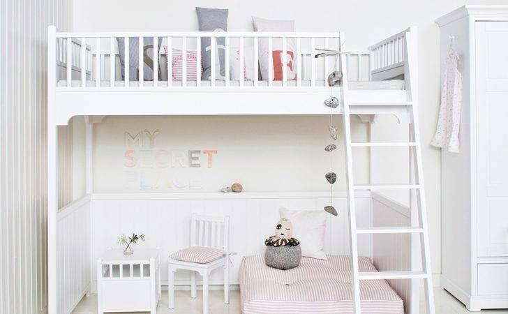 Childrens Luxury Loft Bed White Single Beds Cuckooland