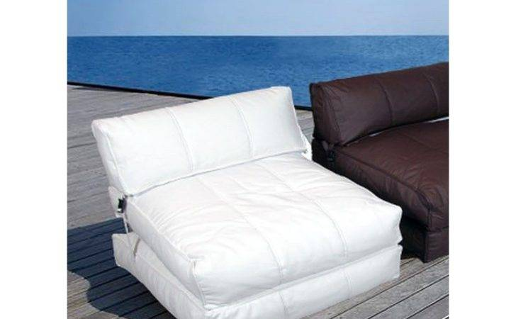 Chill Out Convertible Chair Sunlounger Sho White