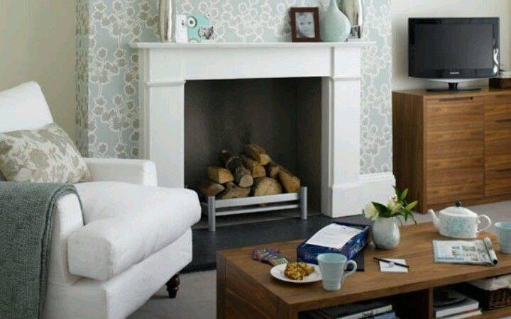 Chimney Breast Fireplace Pinterest