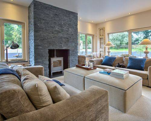 Chimney Breast Home Design Ideas Renovations Photos