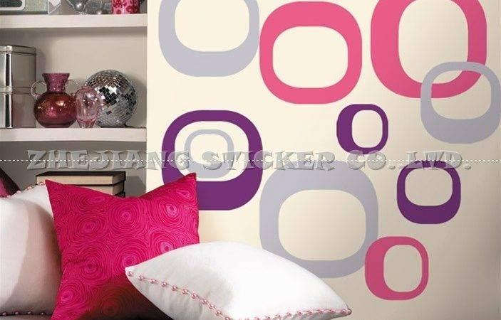 China Modern Ovals Wall Sticker