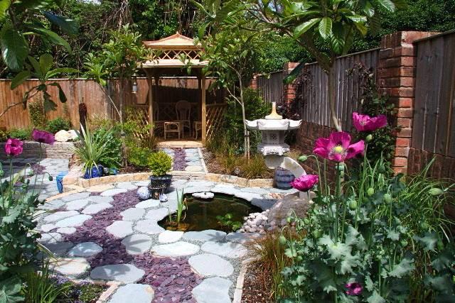 Chinese Garden Wendy Cartwright Design