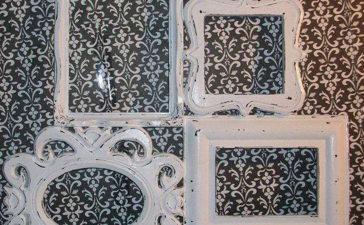 Chippy White Shabby Chic Collage Frame Dirtroaddecor Etsy