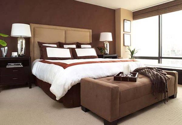 Chocolate Bedroom Design