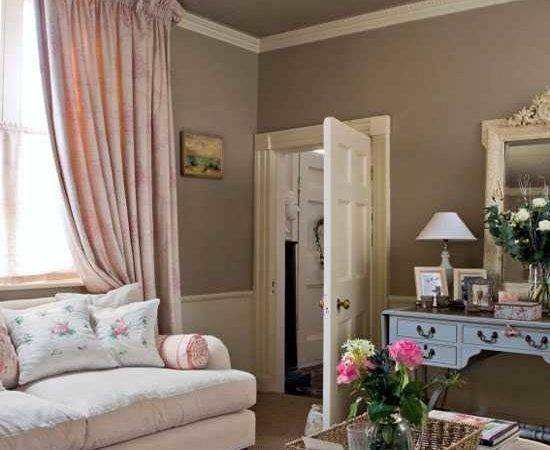 Chocolate Brown Interior Colors Comfortable Decorating