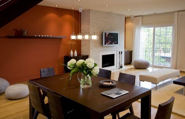 Choose Accent Wall Color Ideal Dining Room