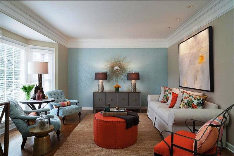 Choose Accent Wall Color Living Room