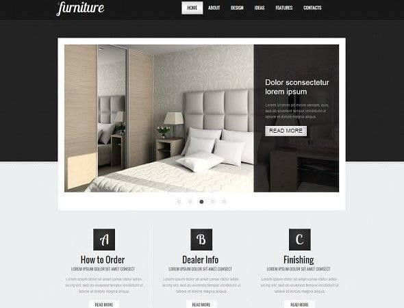Choose Best Interior Design Website Template