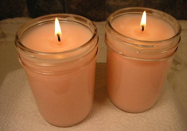 Choose Safe Container Make Candles